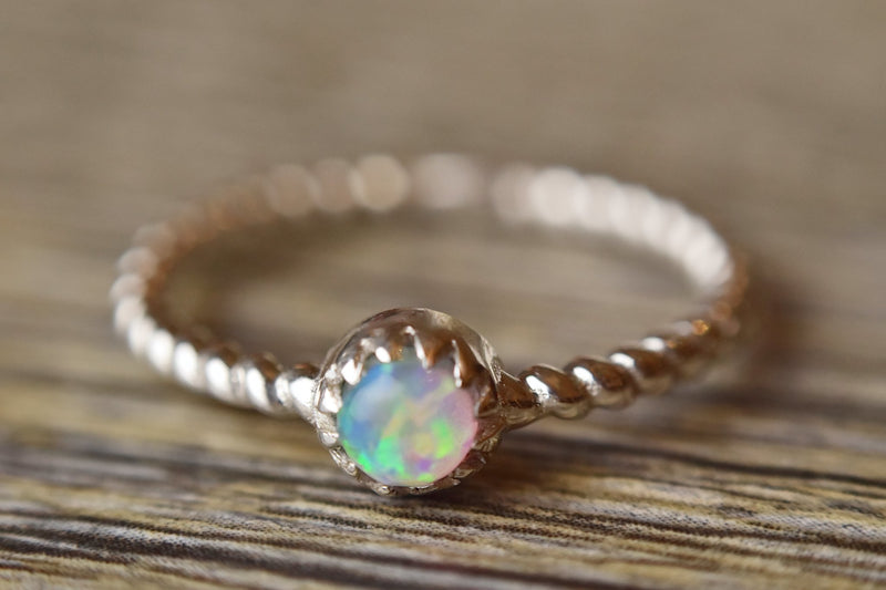 Mermaid Opal Ring - Kat's Collection