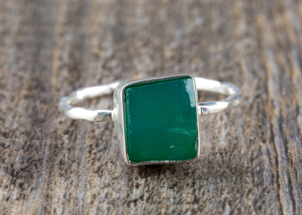 Raw Emerald Ring - Kat's Collection