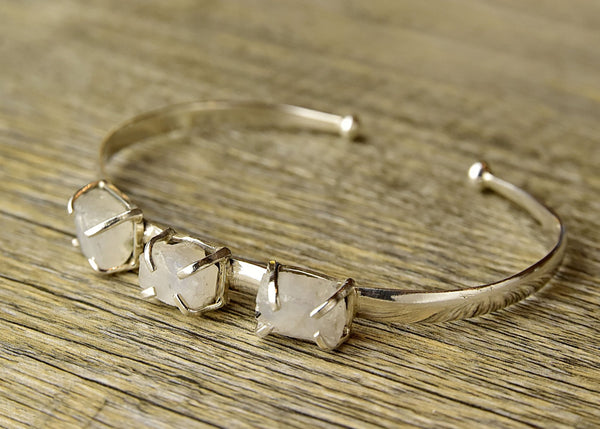 Raw Moonstone Bracelet - Kat's Collection