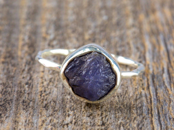 Raw Tanzanite Ring - Kat's Collection