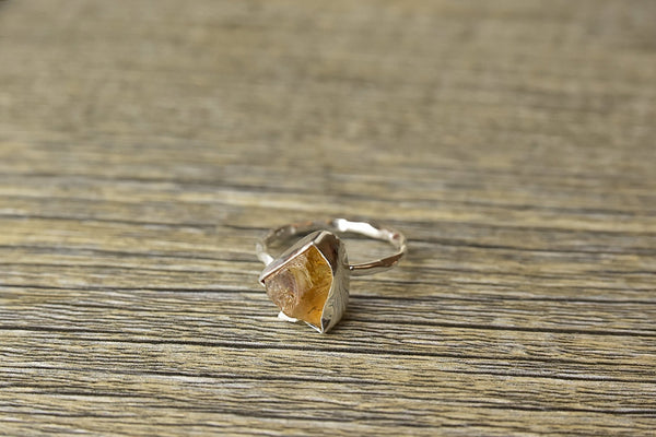 Rough Citrine Ring - Kat's Collection