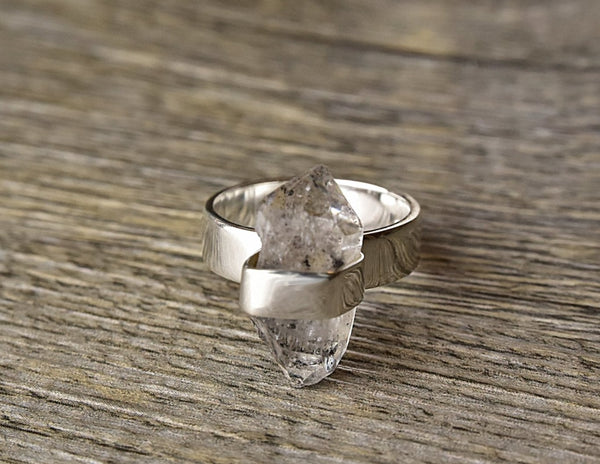 Rough Herkimer Ring - Kat's Collection