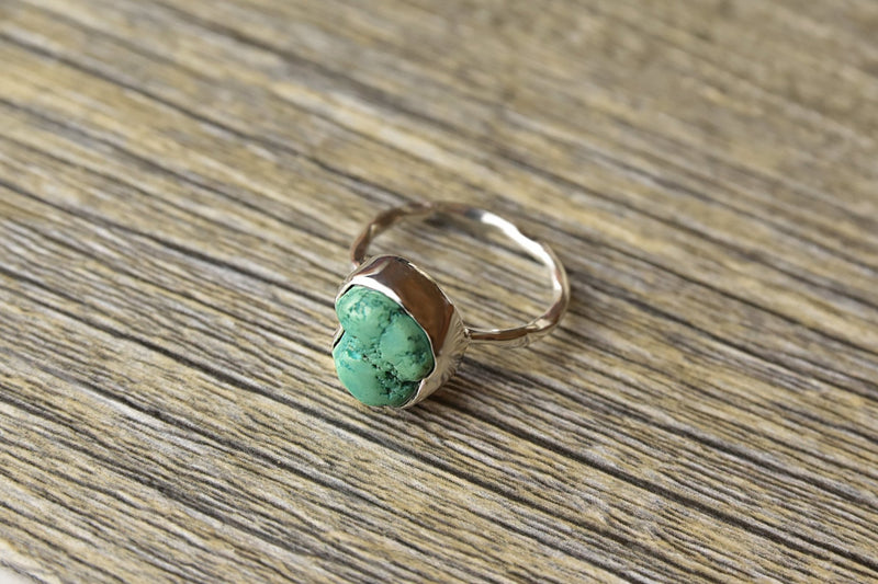 Rough Turquoise Ring - Kat's Collection