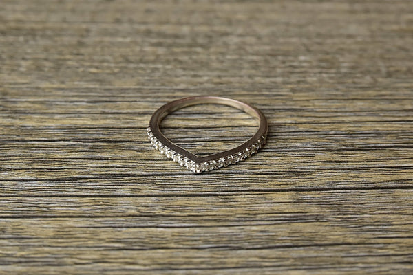 Silver Wishbone Ring - Kat's Collection