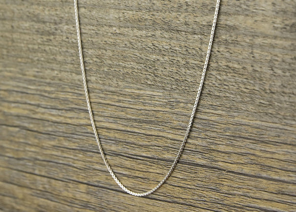 Sterling Silver Box Chain - Kat's Collection