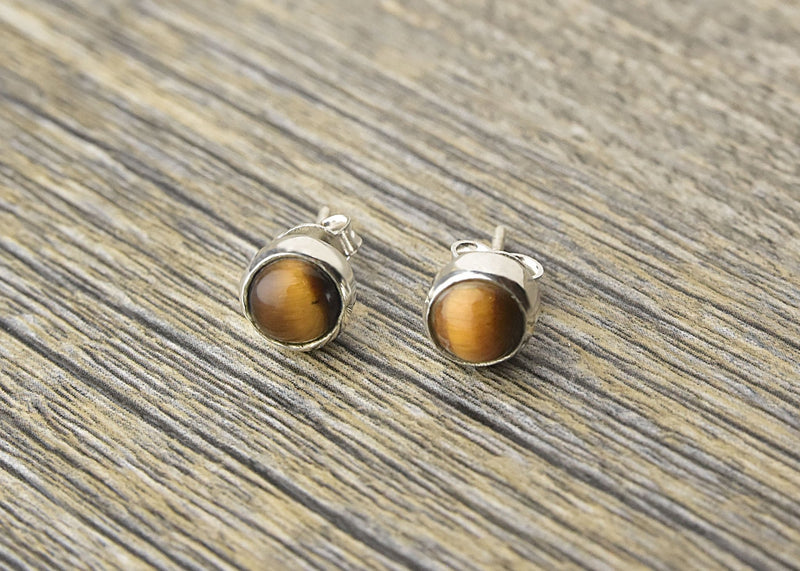 Tiger Eye Earrings - Kat's Collection