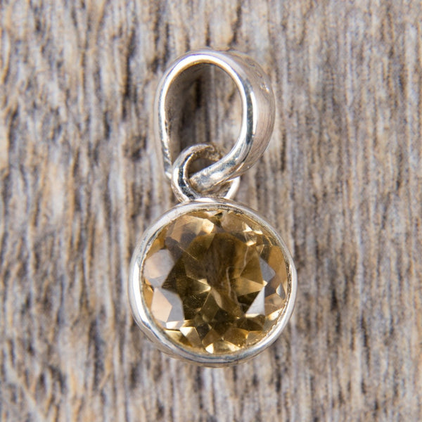Yellow Topaz Pendant - Kat's Collection