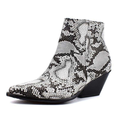 Bottines Pointues Python