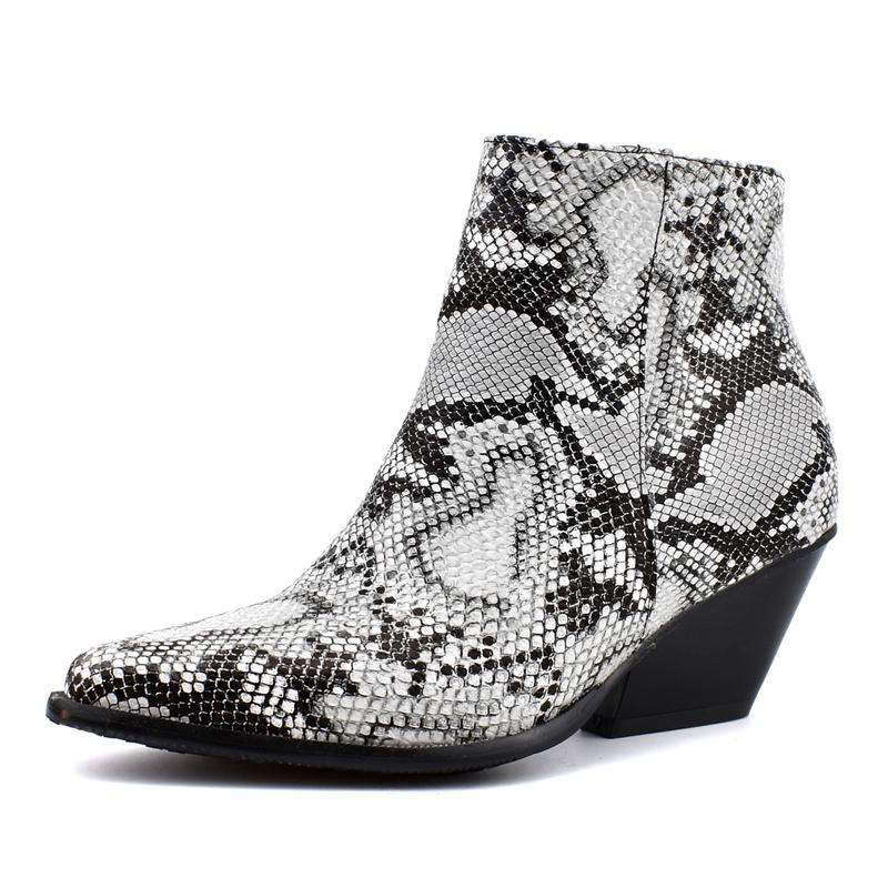 Bottines Pointues Python | Univers Serpent