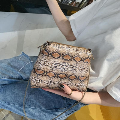 Sac Python Orange | Univers Serpent