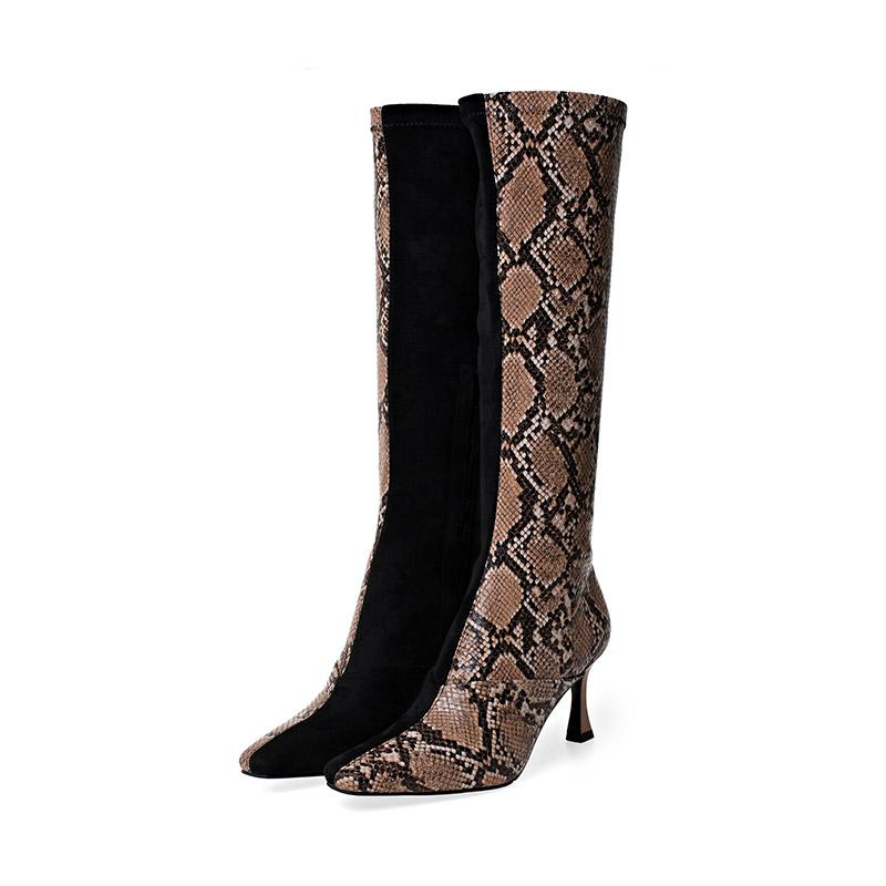 Bottes Imitation Serpent | Univers Serpent