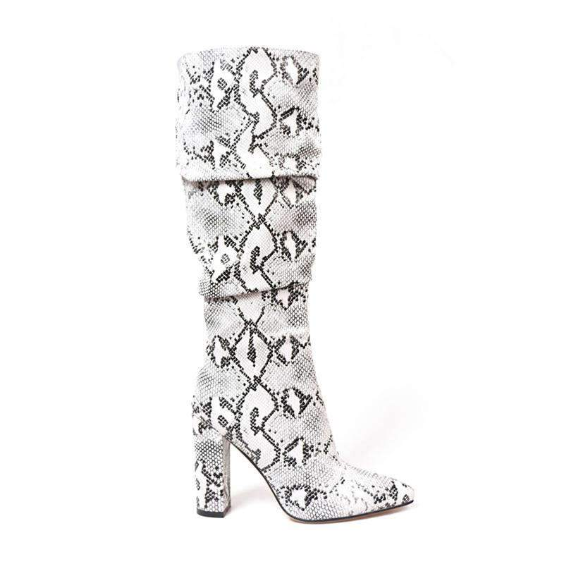 Bottes Serpent Blanc | Univers Serpent