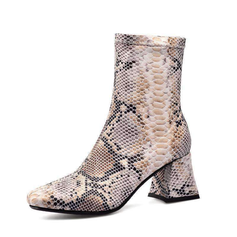 Bottines Chaussettes Python | Univers Serpent