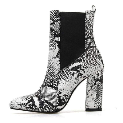 Bottines Serpent Chelsea | Univers Serpent