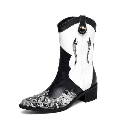 Bottines Western Python | Univers Serpent