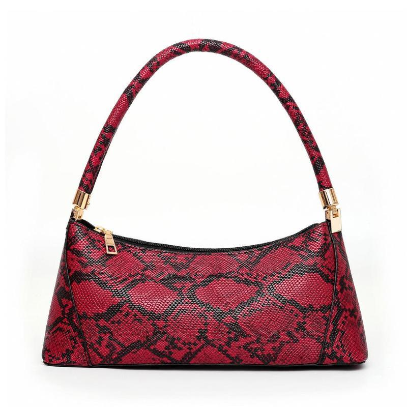 Sac à Main Python Rouge | Univers Serpent