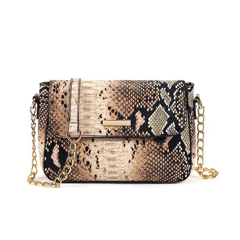 Sac Bandoulière Serpent Beige | Univers Serpent