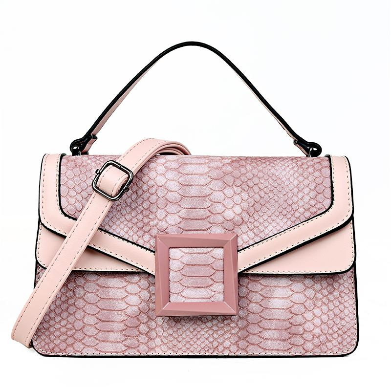 Sac Serpent Python Rose | Univers Serpent