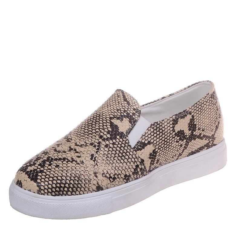Sneakers Python Beige | Univers Serpent