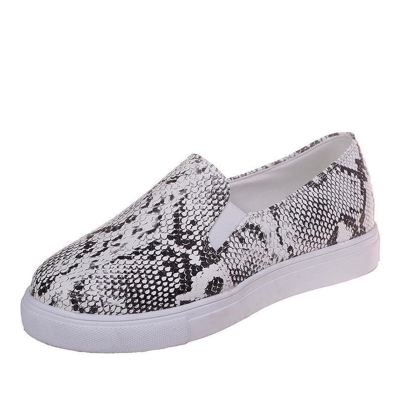 Sneakers Python Gris | Univers Serpent