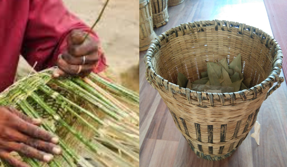 ringal basketry making