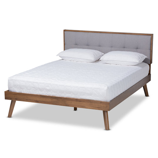 Alke One (1) Queen Size Bed Frame