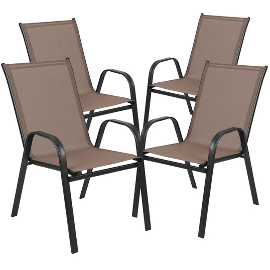 Flash Furniture Outdoor Dining Chairs