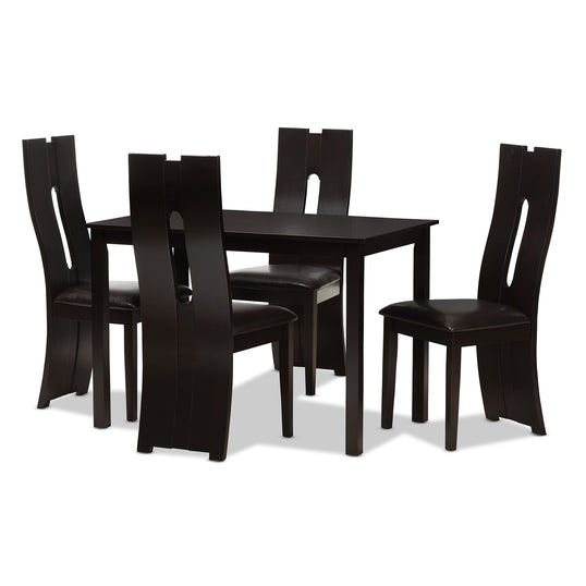 Alani One (1) Table; Four (4) Dining Chairs