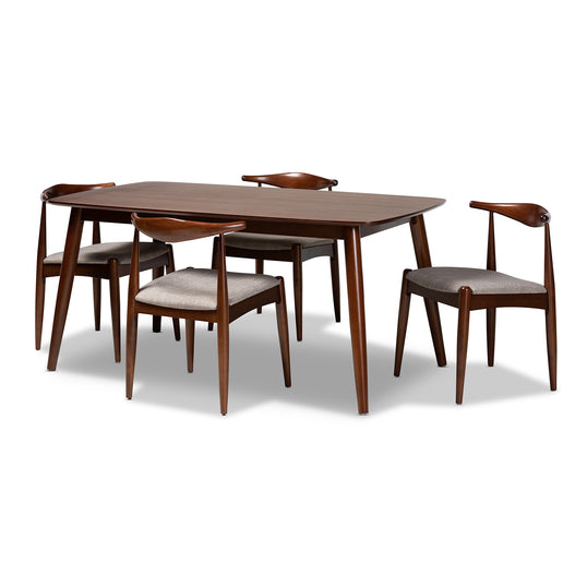 Aeron One (1) Dining Table; Four (4) Dining Chairs