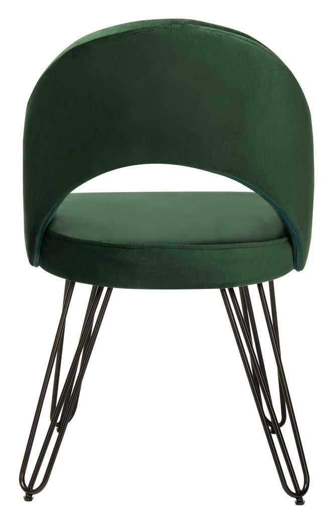 Jora Velvet Retro Side Chair