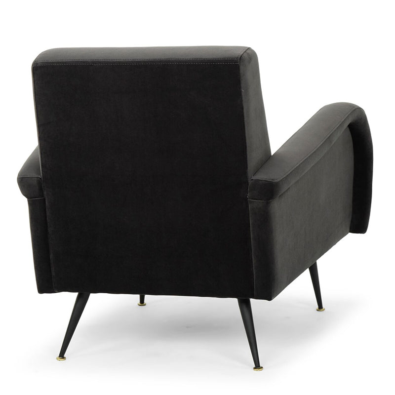 Hugo Shadow Grey Fabric Occasional Chair