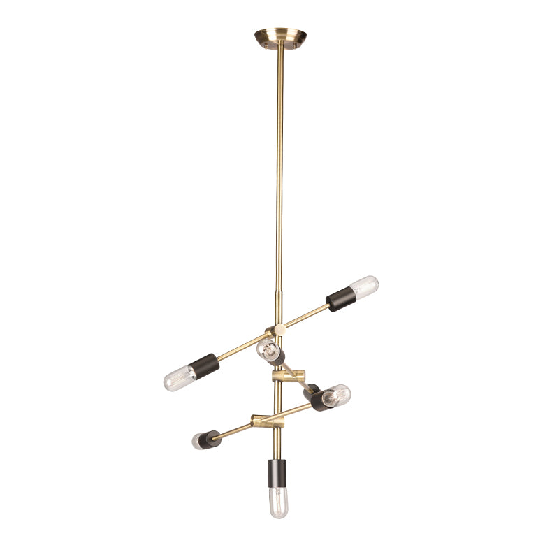 Byron Antique Brass Metal Pendant Lighting