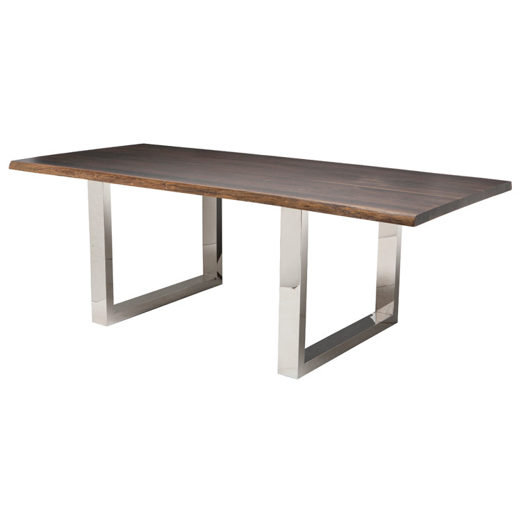 Lyon Seared Wood Dining Table