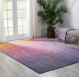Passion PSN09 Power Loomed 100% Polypropylene Multicolor 9' x 12' Rectangle Rug