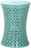 Safavieh Camilla Garden Stool Light Blue Ceramic ACS4550C 683726329497