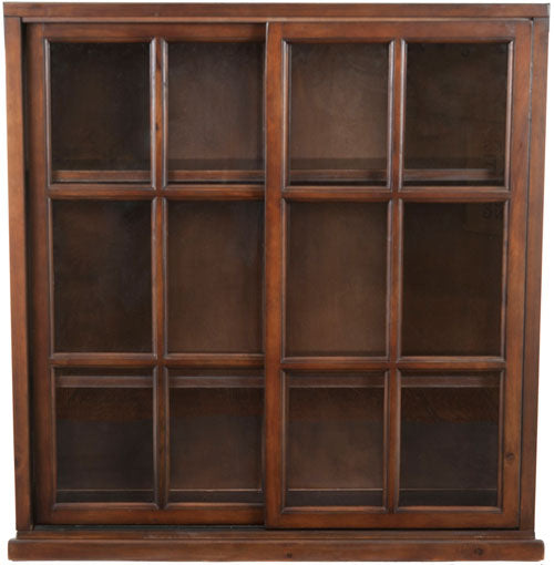 Safavieh Greg3 Bookcase Dark Teak Wood NC Coating Pine AMH6570A 683726403265