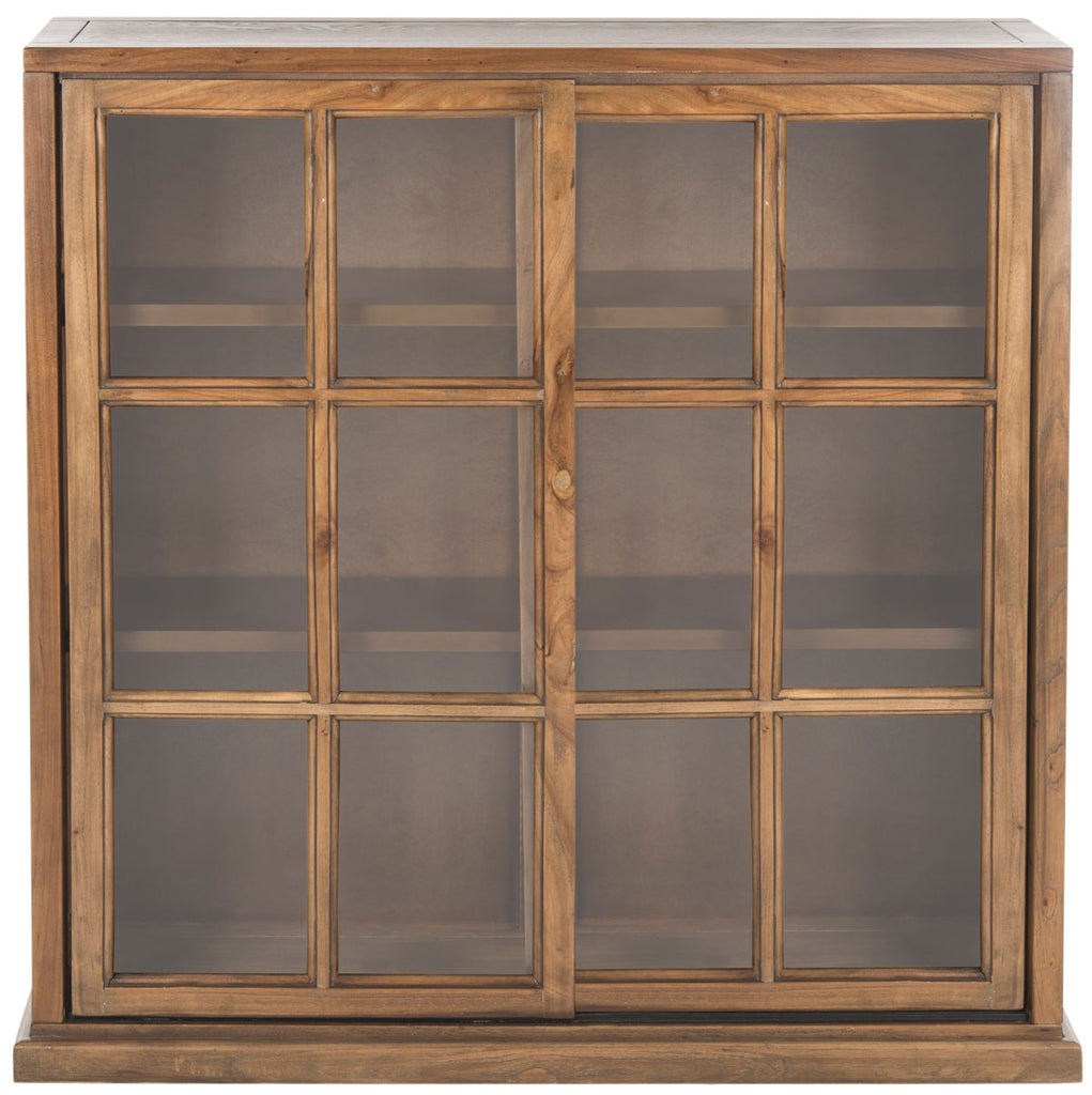 Safavieh Greg3 Bookcase Oak Wood NC Coating Elm AMH6570B 683726328278