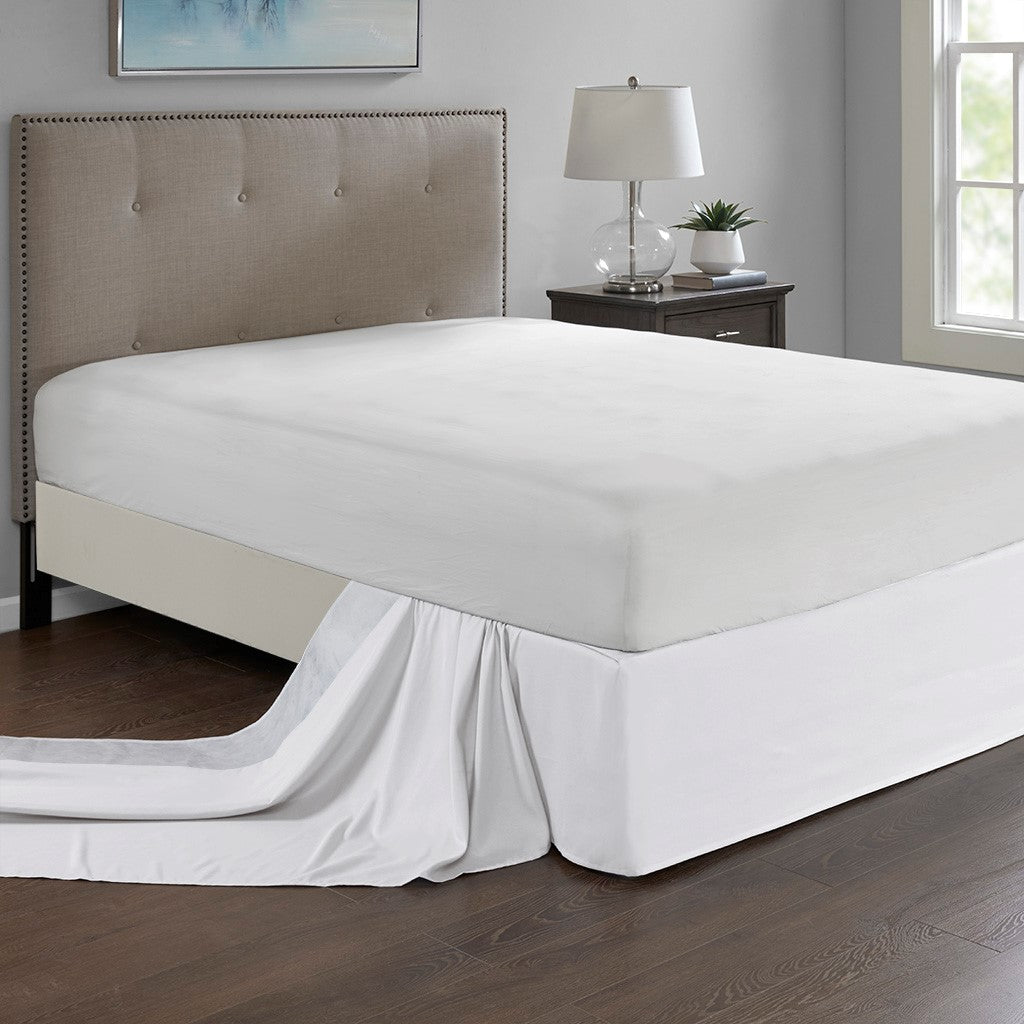 Simple Fit Casual 100 Polyester Microfiber Wrap Around Adjustable Bed English Elm