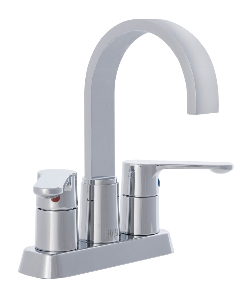Safavieh Compose Bathroom Faucet Chrome Chrome BRF1052C 889048537231