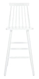 Safavieh Beaufort Bar Stool in White BST8500A-SET2 889048826465