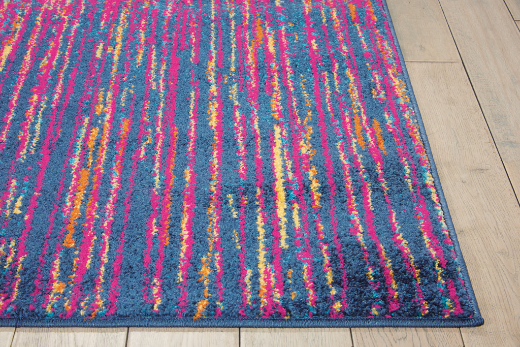 "Passion PSN09 Power Loomed 100% Polypropylene Multicolor 3'9"" x 5'9"" Rectangle Rug"