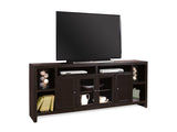 "Essentials Lifestyle - Cherry Contemporary Poplar Solids - Birch Veneer 84"" Console"