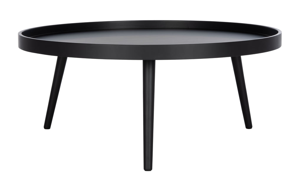 Safavieh Fritz Tray Top Coffee Table in Black COF4204A 889048767201