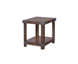 Industrial Industrial End Table