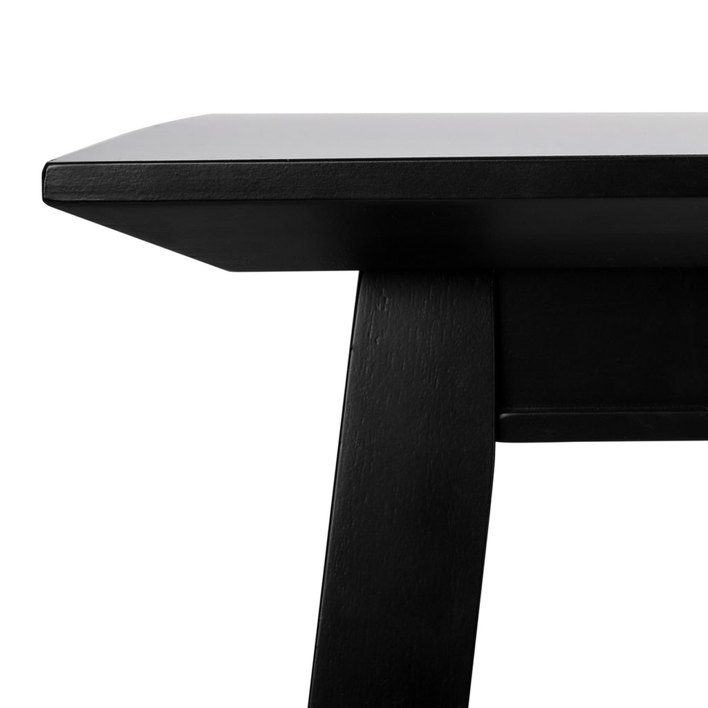 Safavieh Brayson Rectangle Dining Table Black Wood DTB5000A