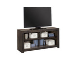 "Avery Loft Contemporary Ghost Knotty Alder - Knotty Alder Veneer 49"" Open Console"