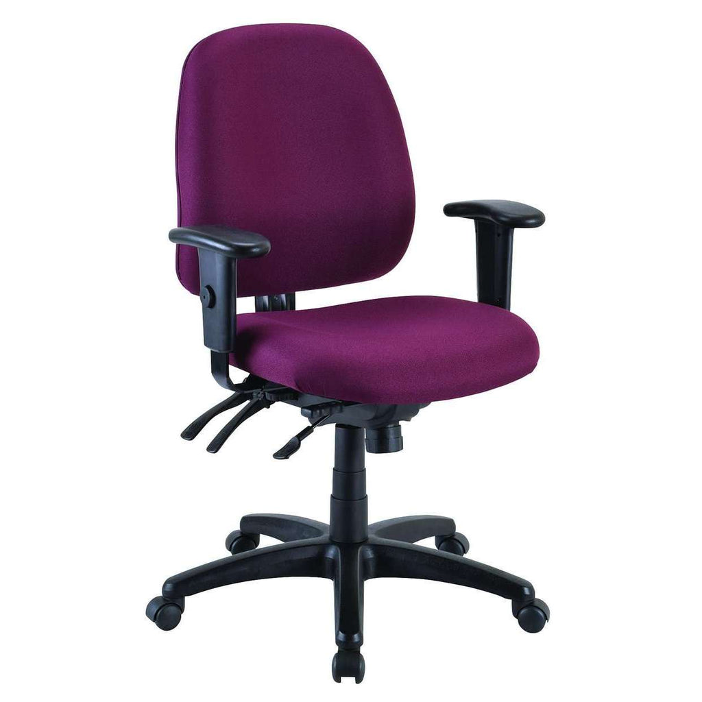 4X4 Adjustable Multi-Function Office Chair 250Lbs Weight Capacity and Black Frame