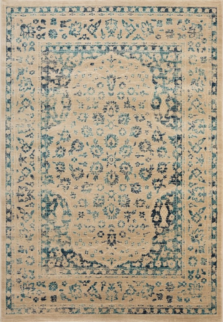 Evoke EVK508 Power Loomed Rug