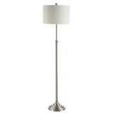 Safavieh Leeland Floor Lamp Nickle FLL4052A 889048650459