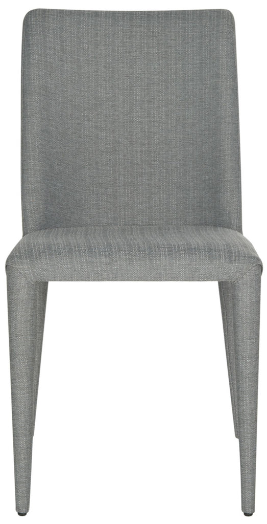 Safavieh - Set of 2 - Garretson Side Chair 18'' Linen Grey Metal Iron FOX2019G-SET2 683726697053